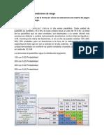 Matriz de pagos en Condiciones de riesgo