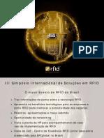 II Simpósio Internacional RFID