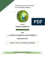 QUIMICA AMBIENTAL- PRACTICA Nº02