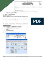 TP06 - Visio - Plans dimensionnels rev06