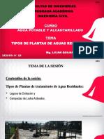 TIPO DE PLANTAS DE TRATAMIENTO AGUA RESIDUALES