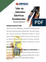 AFICHE TALLER DE INSTALACIONES ELÉCTRICAS