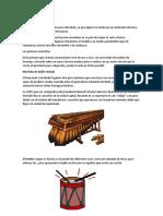 Instrumentos sonoro