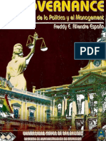 Gobernance, Freddy Aliendre España