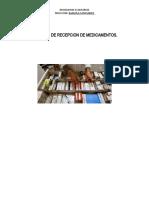manual de  RECEPCION Grupo N°3
