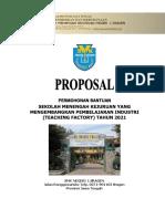 Proposal Tefa - Smk n 1 Sragen 2021