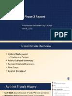 City of Everett - Rethink Everett Transit Phase 2 Report Presentation