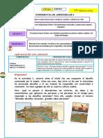 EDA 6 ACT 2 DIA 9 PS Ecoinnovaciones frente a los desafíos naturales en nuestra cultura andina a lo largo del tiempo