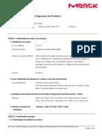 Ficha de Informações de Segurança de Produtos
