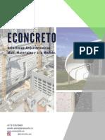 ECONCRETO Soluciones Arquitectónicas Multi Materiales y a la Medida