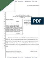 Seattle Remand Order