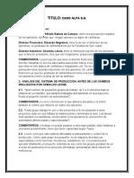 PRACTICO CASO ALFA S.A.