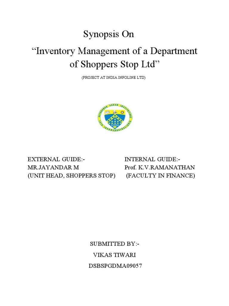 Management term paper