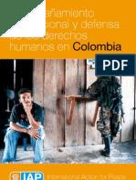 IAP Acompañamiento internacional y la defensa de los derechos humanos en Colombia