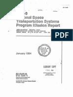 STS-9 National Space Transportation System Program Mission Report