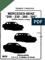 [0] Manual De Taller Completo Mercedes-Benz Carrocería w124 En Castellano - Todas Las Versiones