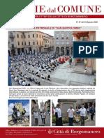 Notizie Dal Comune di Borgomanero del 24-08-2021