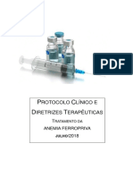 Protocolo Tratamento Anemia Ferropriva Dez 2019