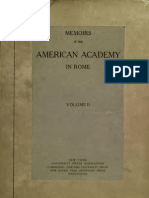MEMOIRS OF THE AMERICAN ACADEMY IN ROME VOLUME X   Pompeii
