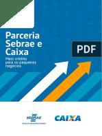 PARCERIA SEBRAE E CAIXA