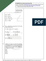 Soal Matematika UMSNMPTN campuran set 17