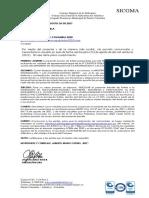 Oficios de Notificacion Admision