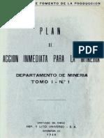 CORFO. (1939). Plan de Acción Inmediata Para La Minería