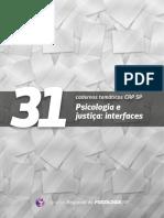 31 - Psicologia e Justiça Interfaces