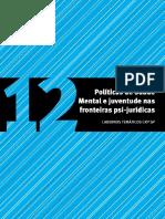 12 - Politicas de Saude Mental e Juventude Nas Fronteiras Psi-juridicas
