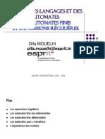 Ch 2 - Automates Finis Et Expressions Regulieres