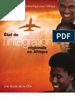 ONU CEA L Integration Regionale en Afrique