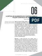 A CRÍTICA DE HUMBERTO DE CAMPOS SOBRE A BERILIO NEVES