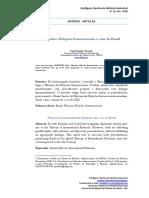 Historia e relacoes Internacionais_o caso do Brasil