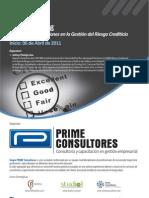 Curso Credit Scoring_Prime Consultores_Marzo 2011