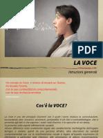 00 LA VOCE - CORSO LIGHT