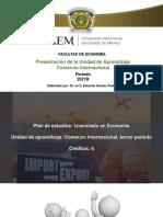 1 Presentación U A Comercio Internacional