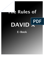 The Rules Of David X Ebook