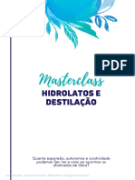 APOSTILA Hidrolatos - Destilação