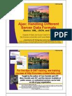 Ajax Data Handling
