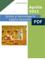 Stiinta si Tehnologia in Egiptul Faraonilor
