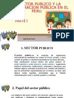 SECTOR PUBLICO Parte I