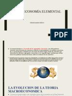 Macroeconomía elemental