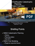 New Madrid Earthquake Catastrophic Planning Project Overview