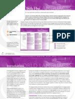 ACTFL 21st century World Languages Skills Map 2011