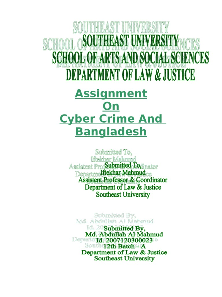 cyber crime thesis statement What are the most important approaches that organizations should embrace for dealing with cyber-crime thesis statement: the approaches for solving cyber-crime and helping the victims which.