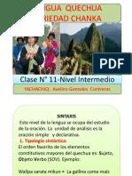 QUECHUA -clase 11