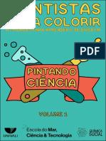 Cientistas para Colorir - Atividades para Aprender e se Divertir-2