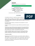 SULFUROS -SULFITOS - FOSFATOS