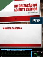 Monitorização Do Paciente Crítico