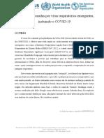 Doenças ocasionadas por vírus respiratórios emergentes incluindo COVID-19 (Cleomárcio Miguel de Oliveira)